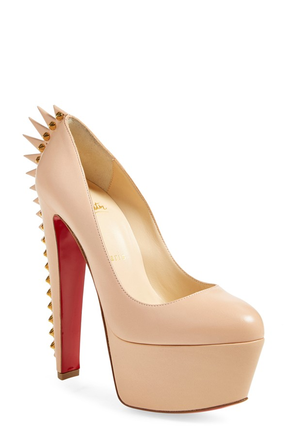 louboutins in small sizes on offbeat bride