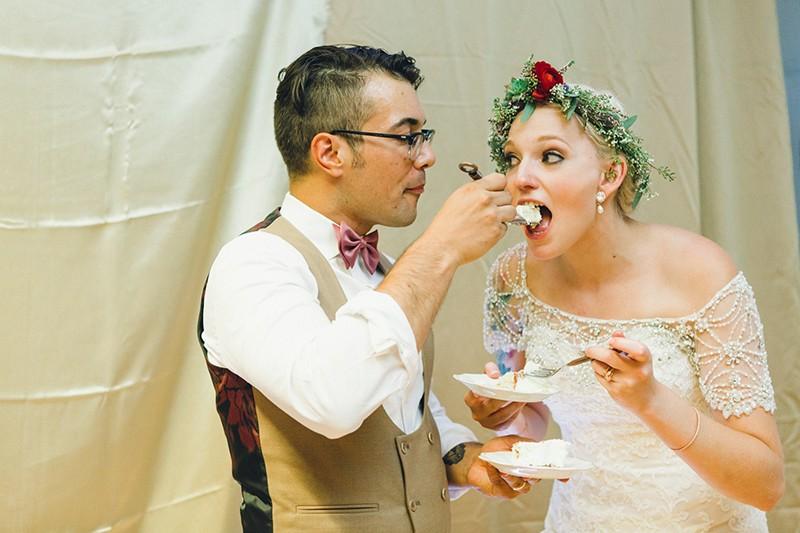 Latin American fiesta wedding as seen on @offbeatbride