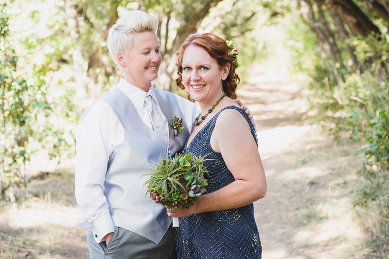Lesbian wedding after 20 years as seen on @offbeatbride