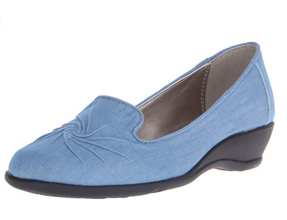 The world's most perfect something blue wedding shoes?