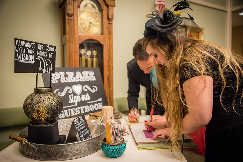 Awesome circus wedding as seen on @offbeatbride
