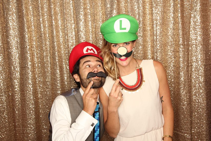 Your princess IS in this castle: an elegant Super Mario wedding