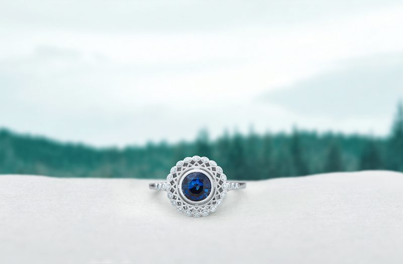 Scheming or dreaming of a holiday proposal? Check out Brilliant Earth's collection of engagement rings