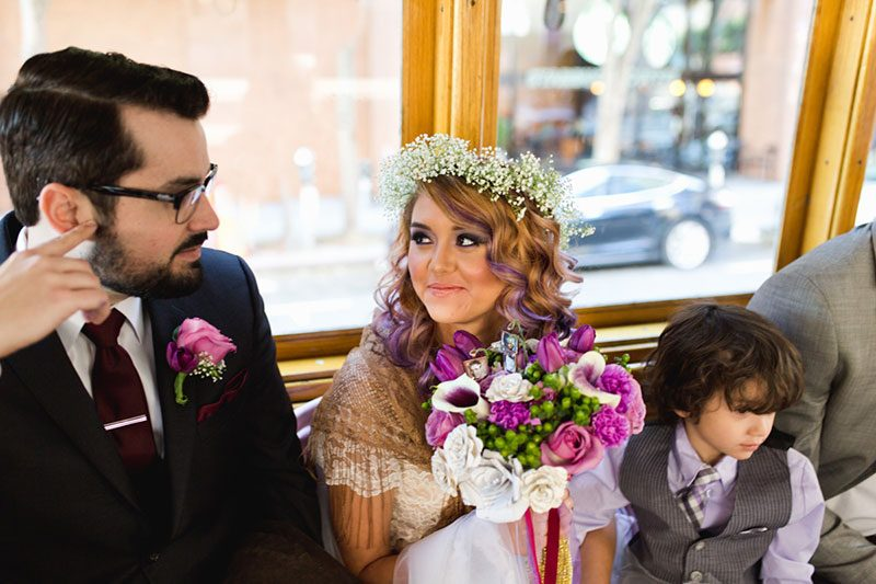 We're heart eyes over this fetching wedding in Golden Gate Park