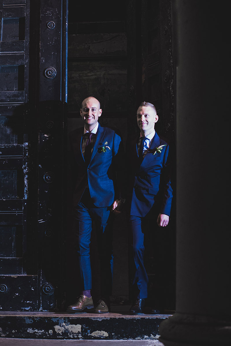 Tom and Patrick's chic and stunning London wedding stole our hearts