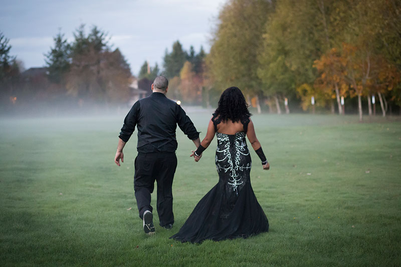 This spooktacular Halloween wedding will get you in the mood for the macabre