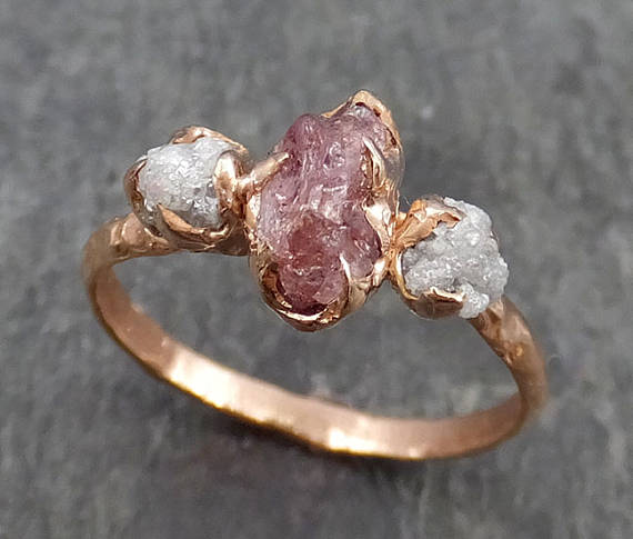 Granola glam: these natural engagement rings will blow your mind