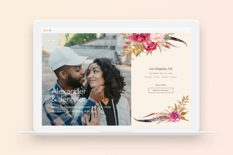 Joy - wedding websites