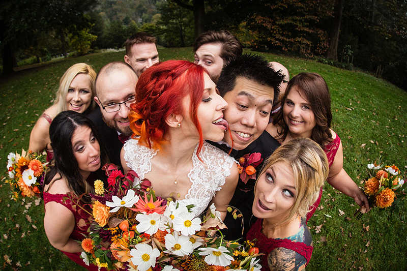 Try not to grin scrolling these ultra happy wedding photos (and see how yours can look just as good!)