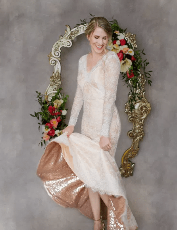 I bought a colored wedding dress and now everyone's mad! What should I do?