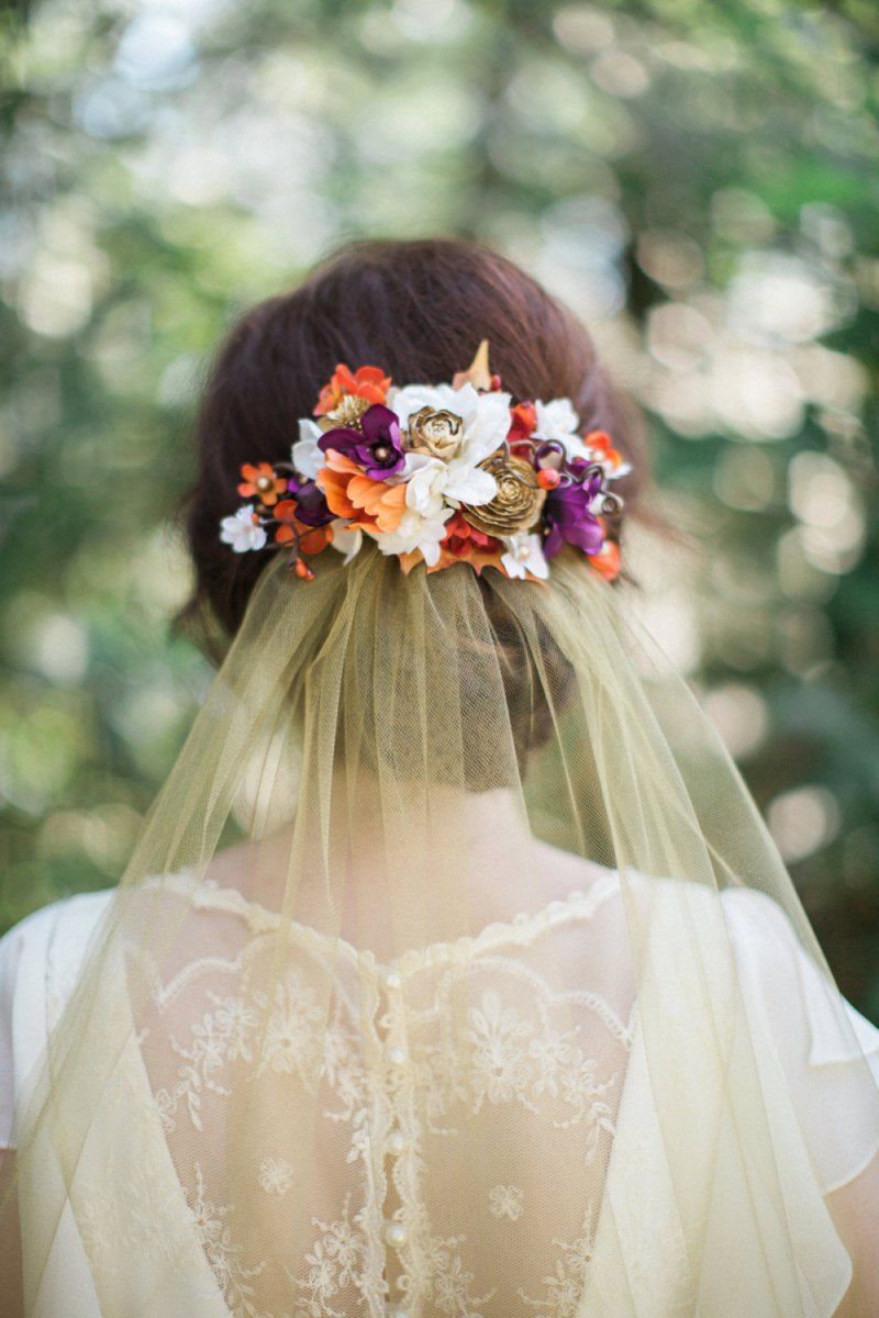 Fall colors, leaves, plaids, & woollies: all the fall bridal accessories you want
