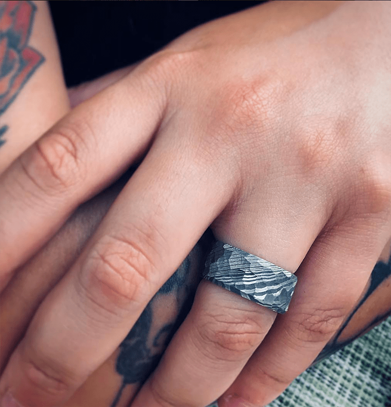 How my partner & I ended up down the rabbit hole of rad alternative wedding rings