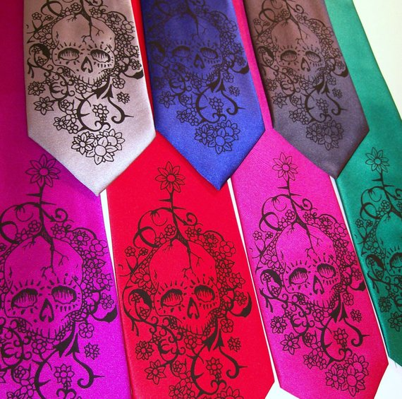 alternative floral ties