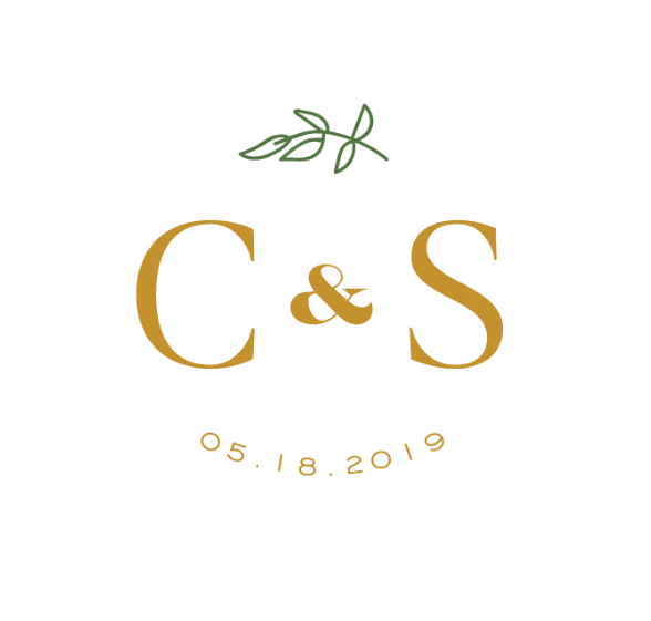 I tried Minted's wedding monogram maker and I'm HOOKED