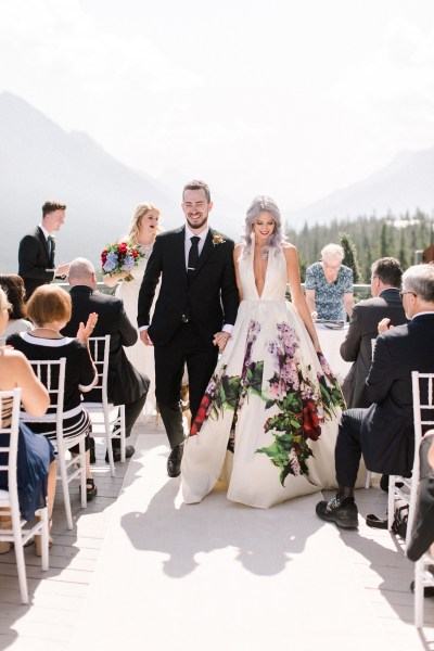 Get ready to lose you shit after seeing this Rocky Mountain radish realness wedding