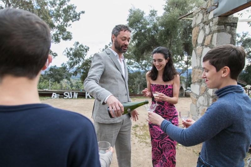 A creative mountain wedding at Zorthian Ranch (with a handmade dress!)
