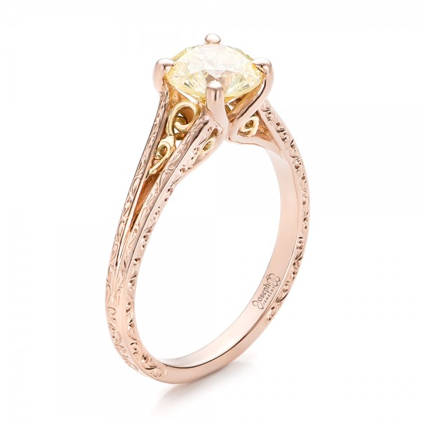 reasons why rose gold engagement rings are stealing our hearts