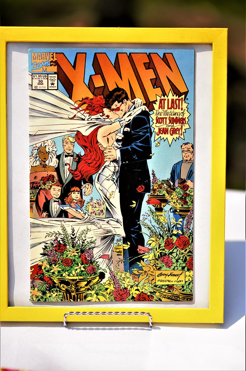 Vintage Comic Book wedding
