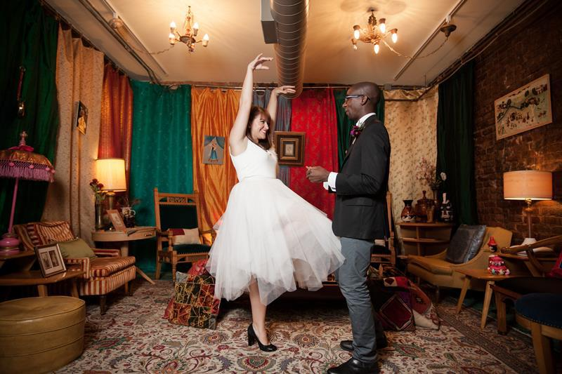 Chicago has a lot of wedding venues, but NONE are anything like this one
