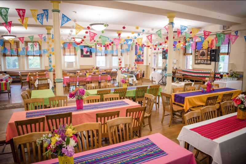 Cultures merge at this Quaker ceremony meets Mexican fiesta wedding