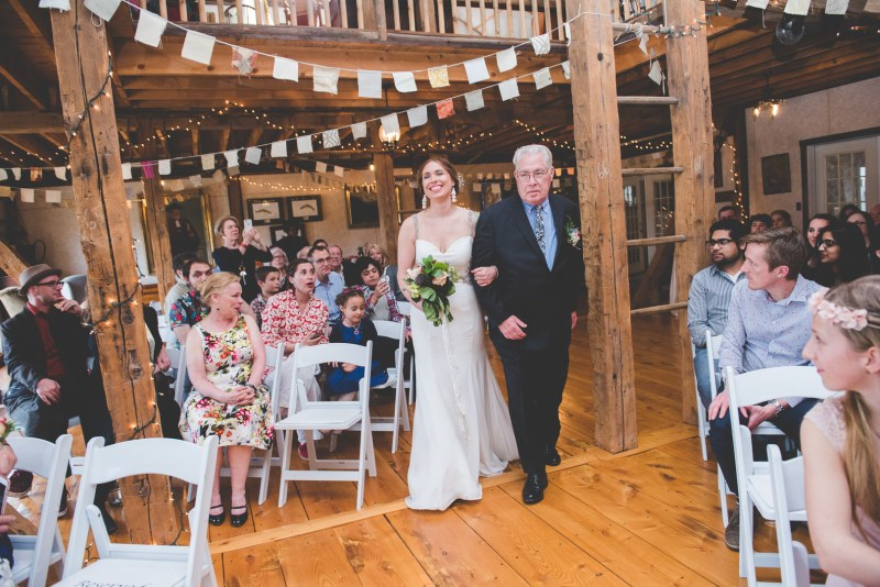 DIY for days at this laid-back Pennsylvania wedding on a working farm