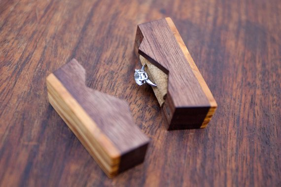 From chic to geek: these wedding ring boxes will make it WAY harder to say no