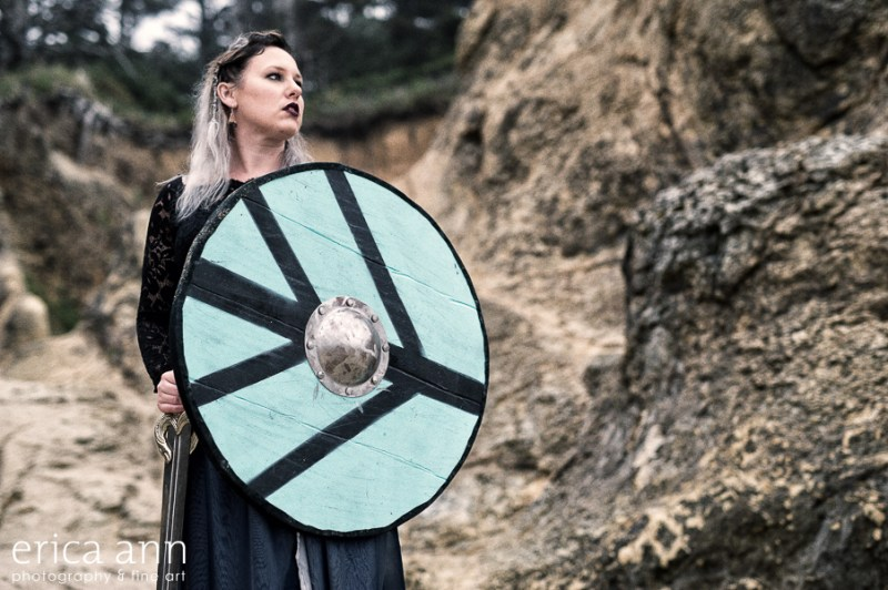 This viking elopement inspiration is all about untamed beauty on the coast