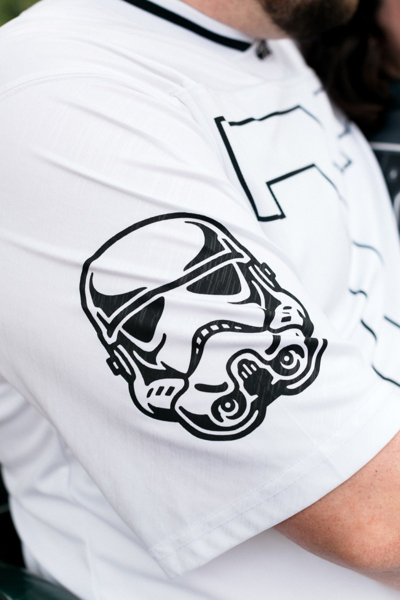 Help me, Obi-wan, my only hope is this engagement shoot with Star Wars jerseys and Pokéball
