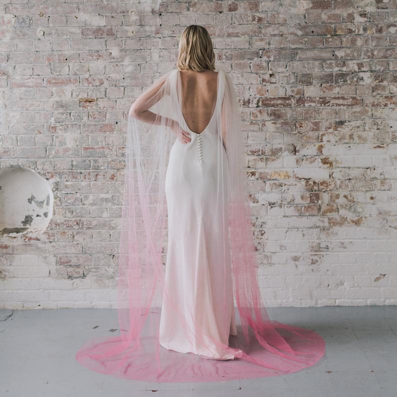 Glitz, ombre, & DETAILS: wedding cover ups have gotten a serious upgrade