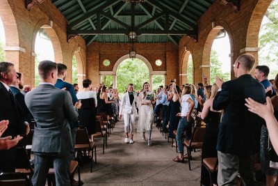 Get starry-eyed with this creative DIY Wedding in a historic Chicago park
