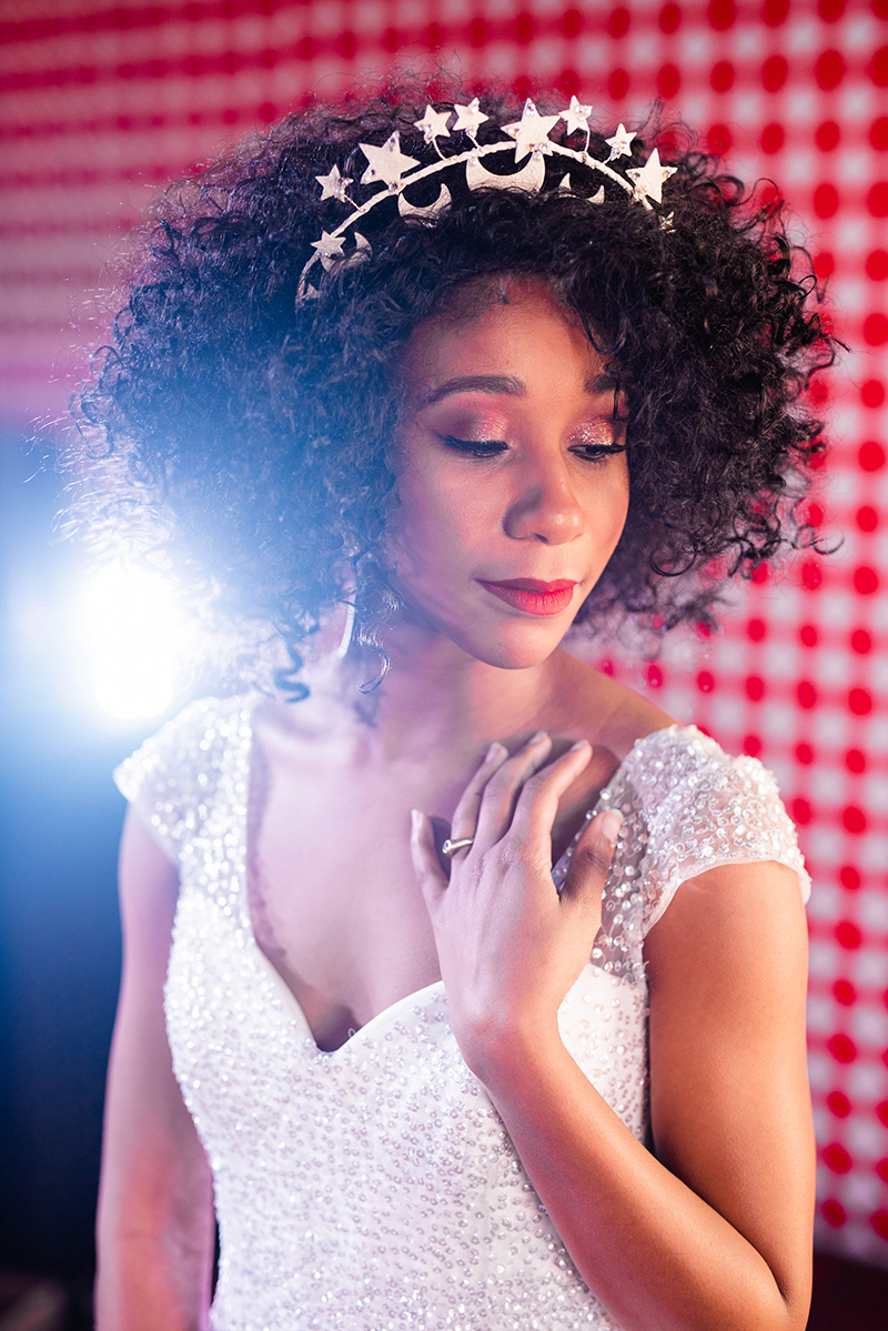 Marriage! At the Disco: a disco-inspired wedding shoot