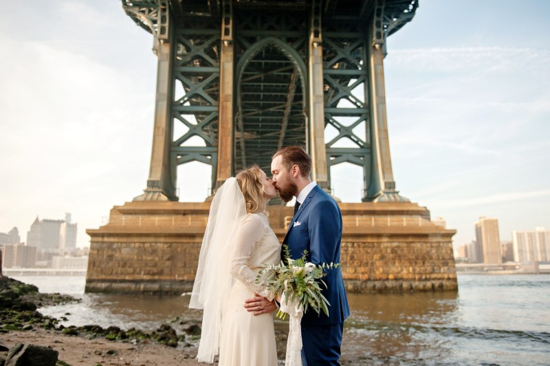 A sweet, simple, & gorgeous Sweden -> DUMBO, Brooklyn elopement