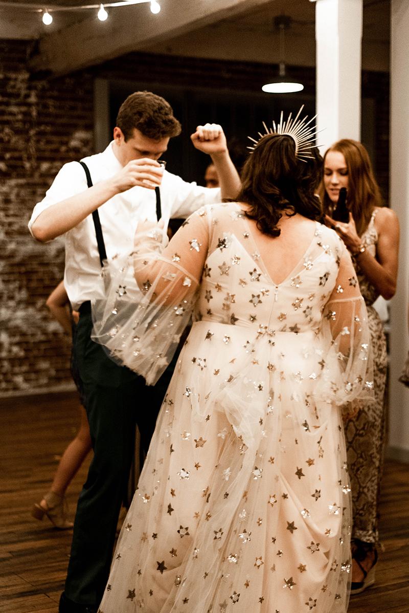 The stars aligned for this celestial wedding in Memphis