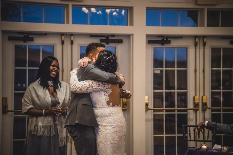 A stunning riverside wedding on a cold November day in Connecticut