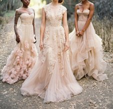 Ruolai wedding gowns on Offbeat Bride