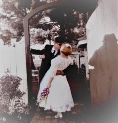 abaowedding tea length dress on offbeat bride