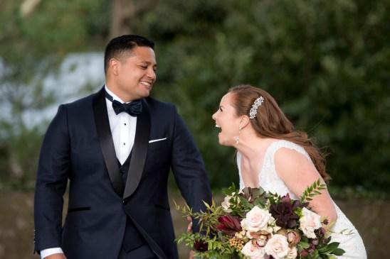 Nikki + Eric's wedding at Hotel du Village