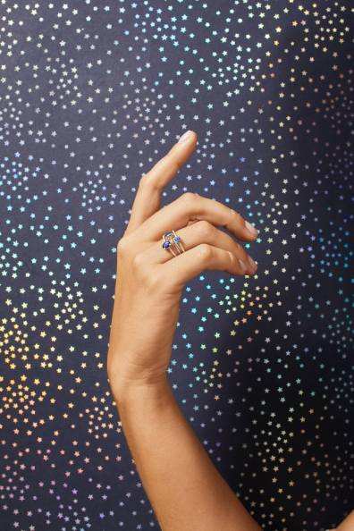 custom engagement rings by gemist on offbeat bride