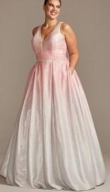 night studio 2318DW plus size offbeat bride dress from davids bridal