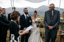 Ashley + Zach Guanella Pass wedding