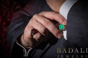 Badali-Jewelry-02-Lord-Of-The-Rings-Utah-Geek-Jewelry-Book-Jewelry-Bookish-Hobbit-Cufflinks-Rings-Of-Men