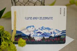 Herbert Glacier Juneau Invitations