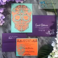 Laser cut wedding invitations by Shimmering Ceremony on Offbeat Bride (4)