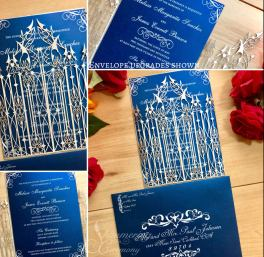Laser cut wedding invitations by Shimmering Ceremony on Offbeat Bride (8)