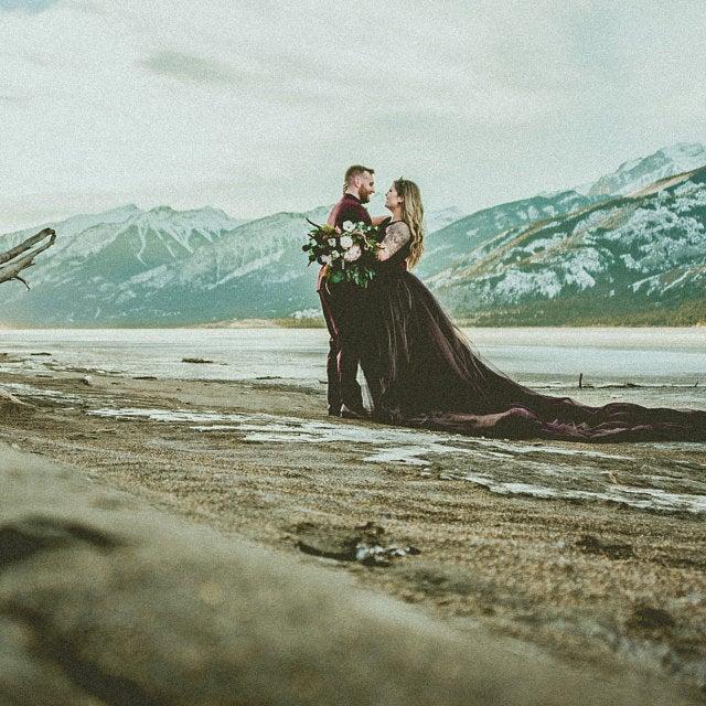 julia miren dresses on offbeat bride