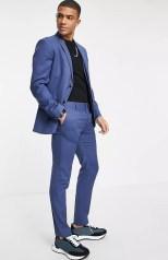 top man skinny suit on offbeat bride