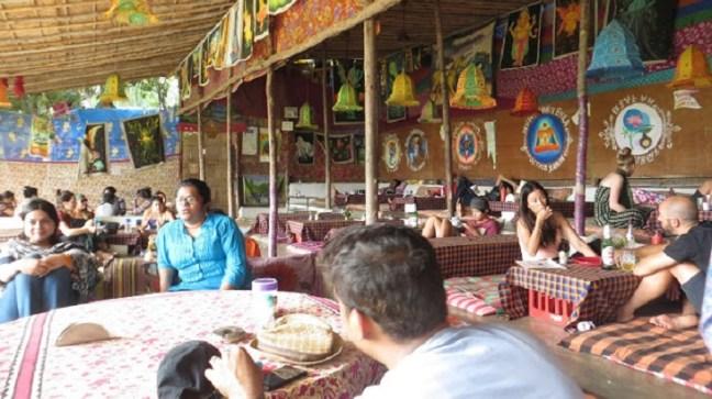 Hampi Temples, Ruins, Hippie Fun, Places to visit in Hampi, Laughing Buddha Restaurent
