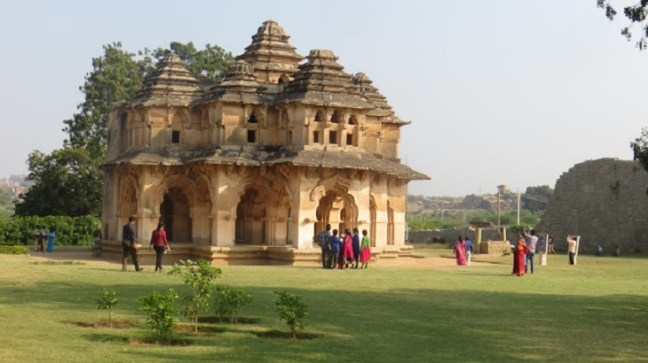 Lotus Mahal Hampi, Hampi Ruins, Elephant Stable, Places to visit in Hampi
