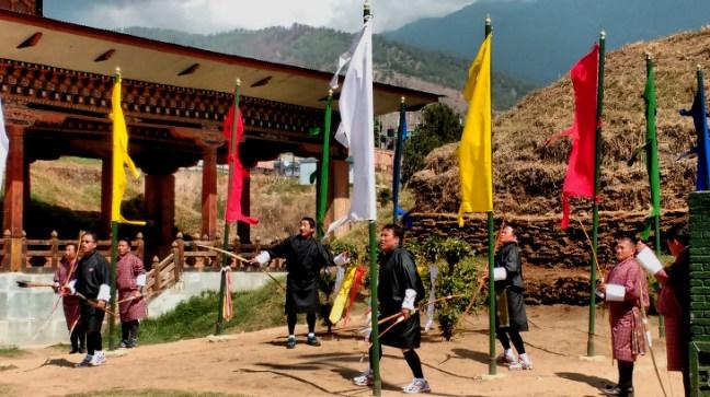 Archery tournament in Thimphu, Bhutan, Things to do in Bhutan, Bhutan Tourism