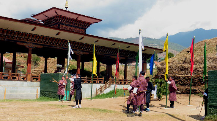 Bhutan Archery, Changlimithang Stadium in Thimphu, Things to do in Bhutan, Thimphu, Bhutan Tourism